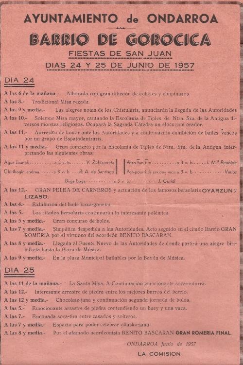1957ko jaxak gorozikan
