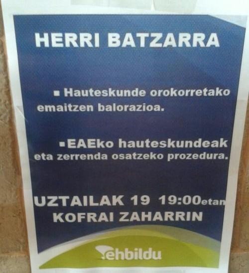 2016-07-19 herri batzarra EH Bildu