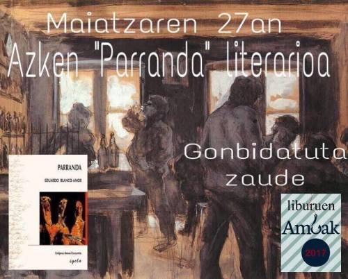 maxatzak 27 irakurketa literarioa
