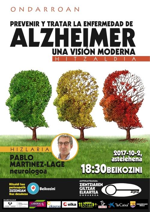 Alzheimer gaxotasunan ingurun hitzaldixe