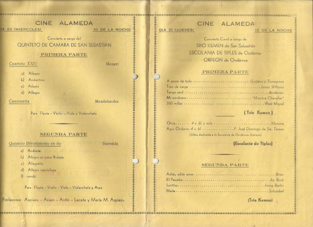 1963an santa zezilin ekitaldixak ondarrun 2