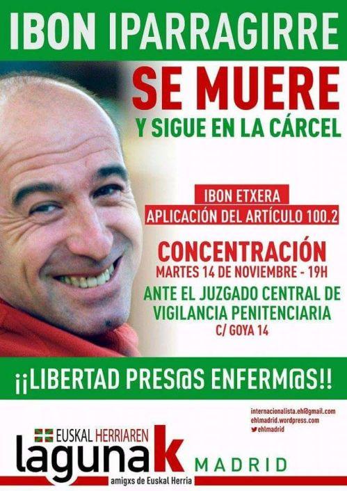 azaruk 14 MADRIDen konzentri IBONen alde