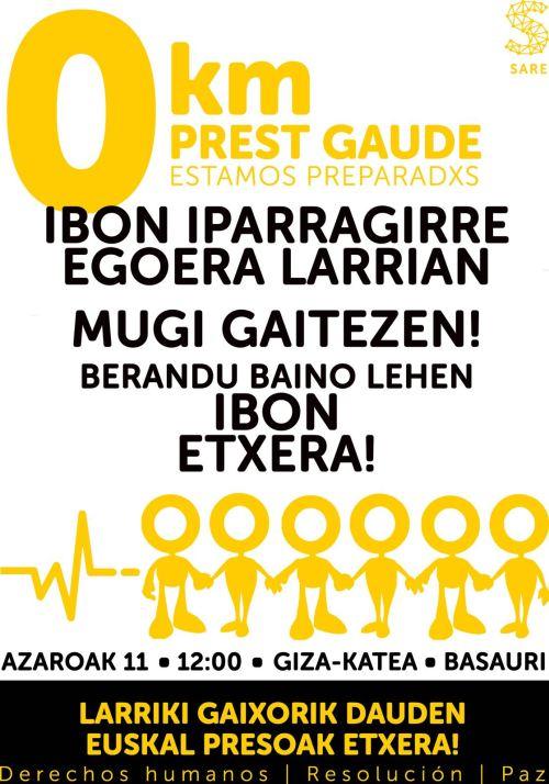 Azarun 11 giza kati BASAURIn IBONen alde