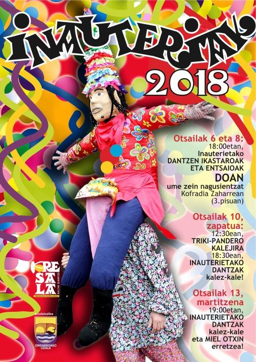 kresala iñautexak 2018