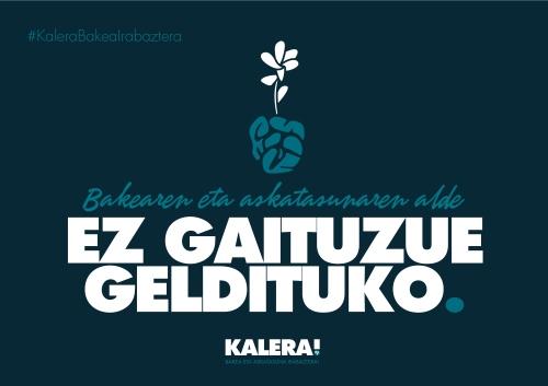 EZ GAITUZUE GELDITUKO