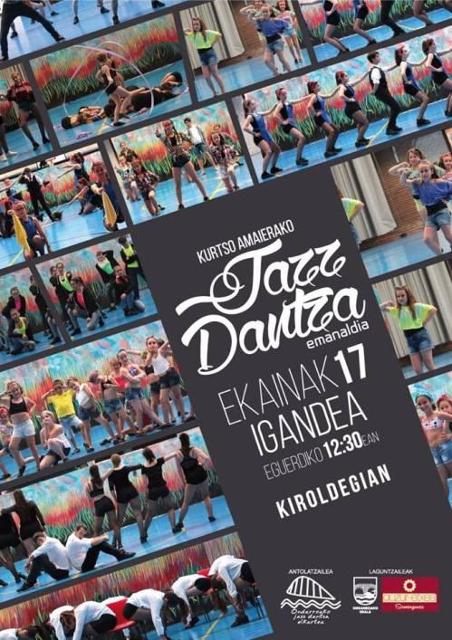 jazz dantza emanaldixe ekainak 17 domeki