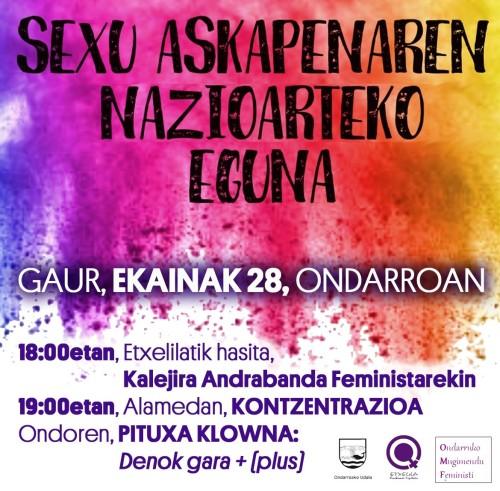 sexuaskatasunan alde konzentri 2019-06-28