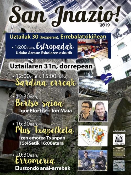San inazio egune 2019 alde zaharrin