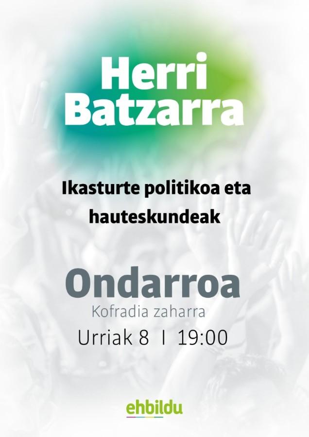 EH Bilduko herri batzarrra 2019-10-08