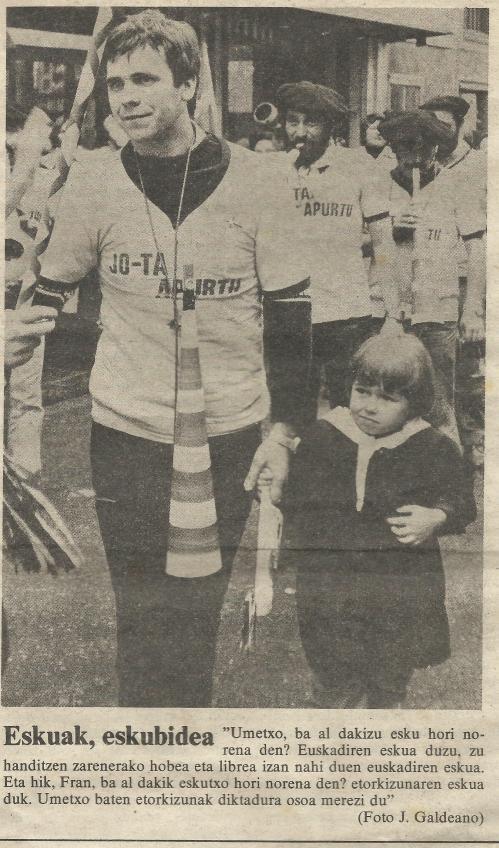 FRAN 1977 askatsune lortute EGIN Egunkarixan