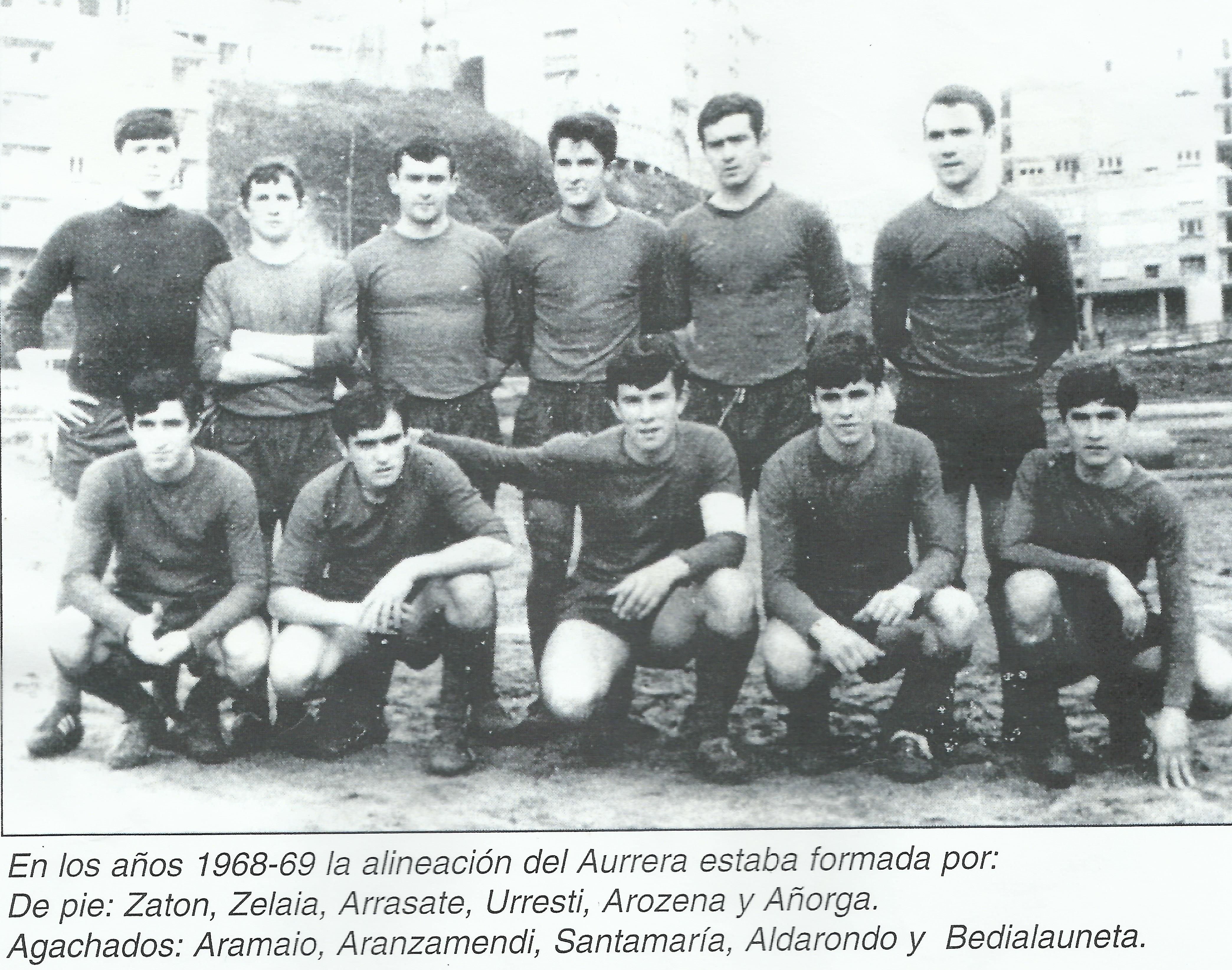 FRAN futbolin 1968-69