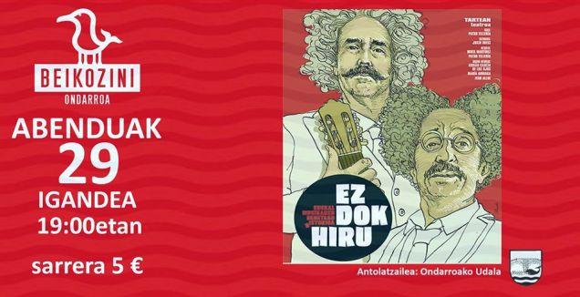 abenduak 29 EZ DOK HIRU Beikozinin